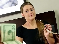 Money Hungry Abby Gets Paid To Do Porn