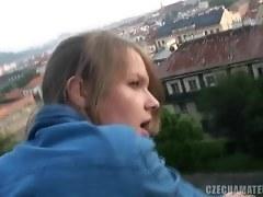 European Teen Loves Public Sex