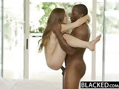 BLACKED Lil' Young Woman Skye West Very first Interracial
